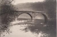 Dinham Bridge by Norman Ackroyd CBE, RA, ARCA, RE, MA